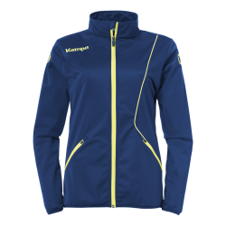 Curve Classic Jacket Women Deep blue/fluo yellow