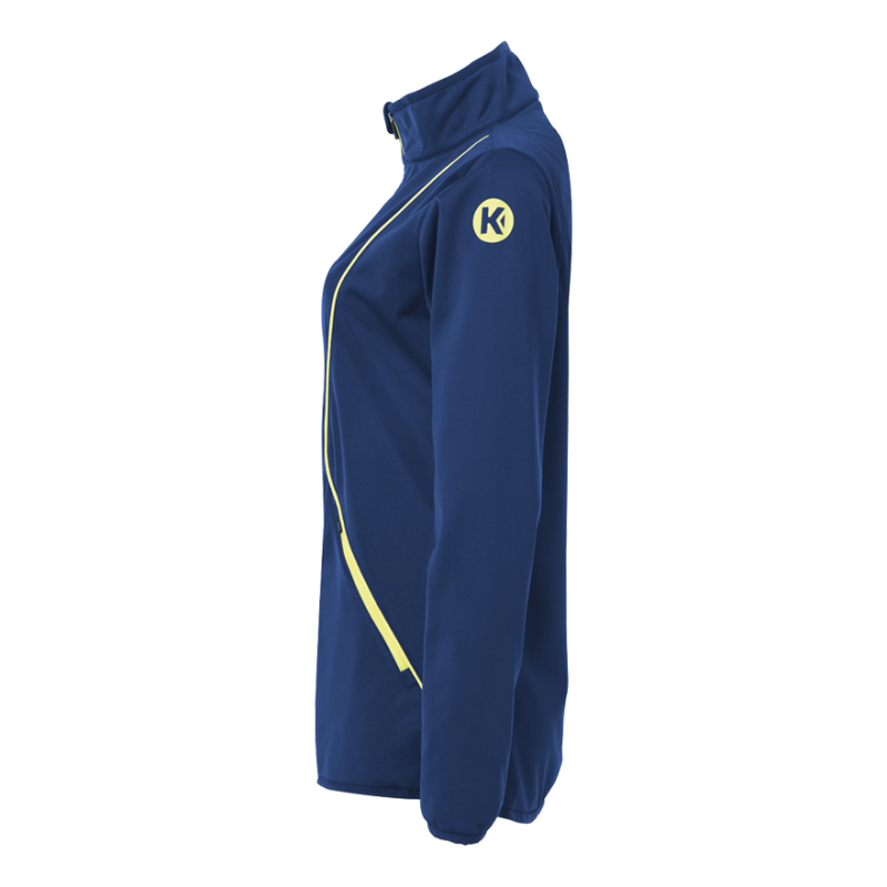 ... Curve Classic Jacket Women Deep blue/fluo yellow ...