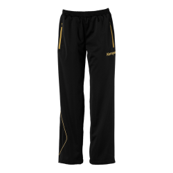 Curve Classic Pants Women Black/gold
