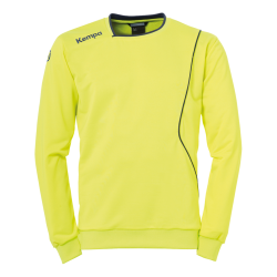 Curve Training Top Uni fluo yellow/deep blue