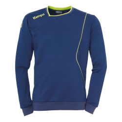Curve Training Top Uni deep blue/fluo yellow