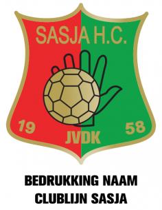 KV SASJA BEDRUKKING NAAM