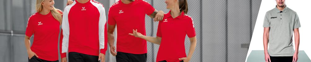 Voetbalkledij - polo's en shirts - ruim aanbod - soccer2fashion