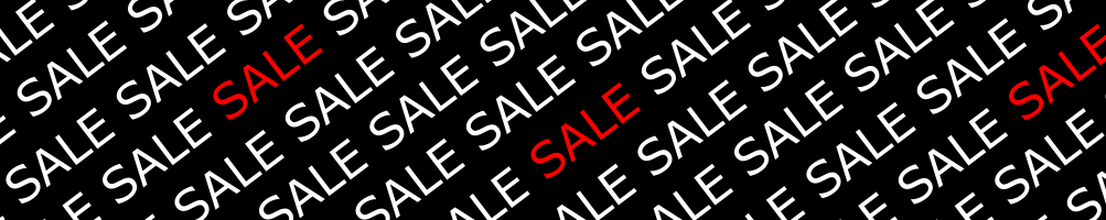 SALE - up to 25%
